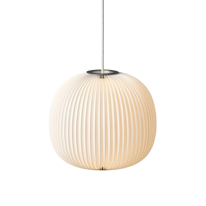 Le Klint - Lamella 3 Pendelleuchte, silber / weiß