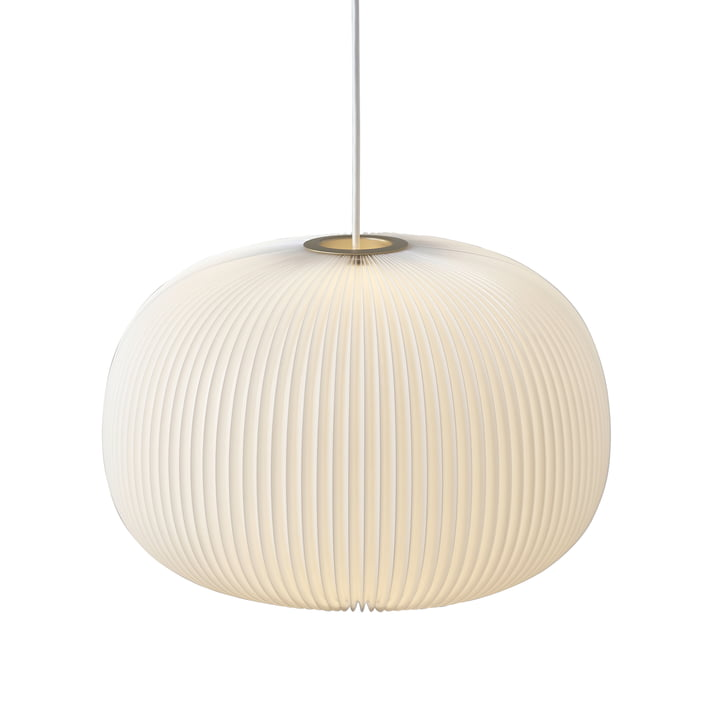 Le Klint - Lamella 1 Pendelleuchte, gold / weiß