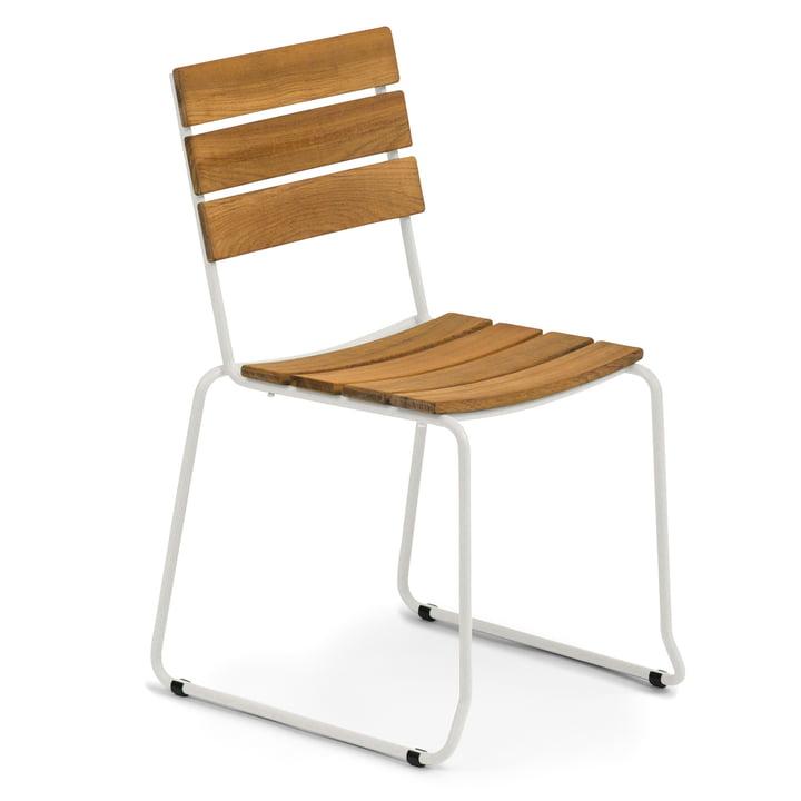 Weishäupl - Balcony Stuhl, Teak / weiß