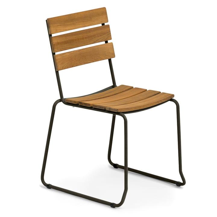 Weishäupl - Balcony Stuhl, Teak / schwarz