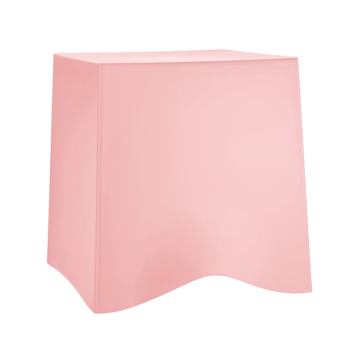 Briq Hocker von Koziol in Powder Pink