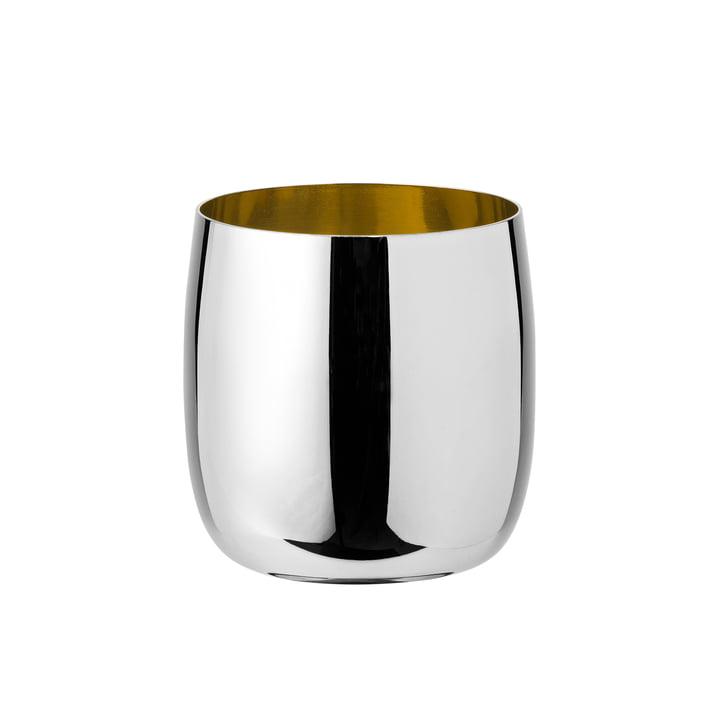 Foster Weinglas 0,2 l von Stelton in Edelstahl / Gold