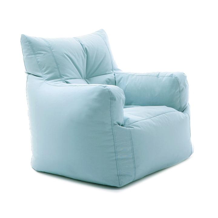 Zapp Sessel von Sitting Bull in Meeresblau