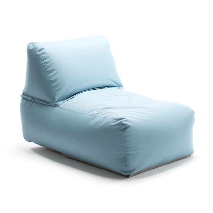 Zipp Sessel von Sitting Bull in Meeresblau