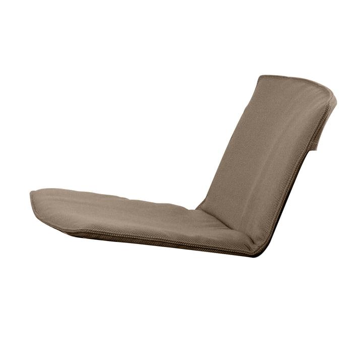 Sitz- und Rückenkissen für Zebra Loungesessel von Fast in Haselnussbraun