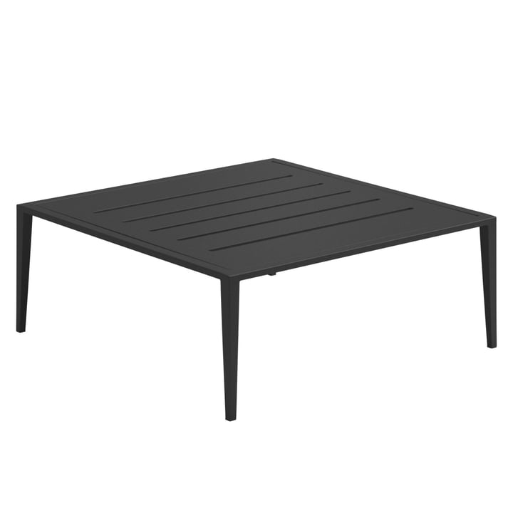 Gloster - Vista Lounge Coffee Table, 76,5 x 76,5 cm, meteor