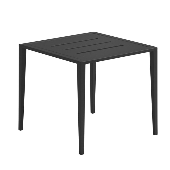 Der Gloster - Vista Lounge Side Table, 45 x 45 cm, meteor