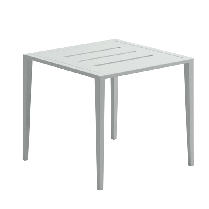 Der Gloster - Vista Lounge Side Table, 45 x 45 cm, weiß