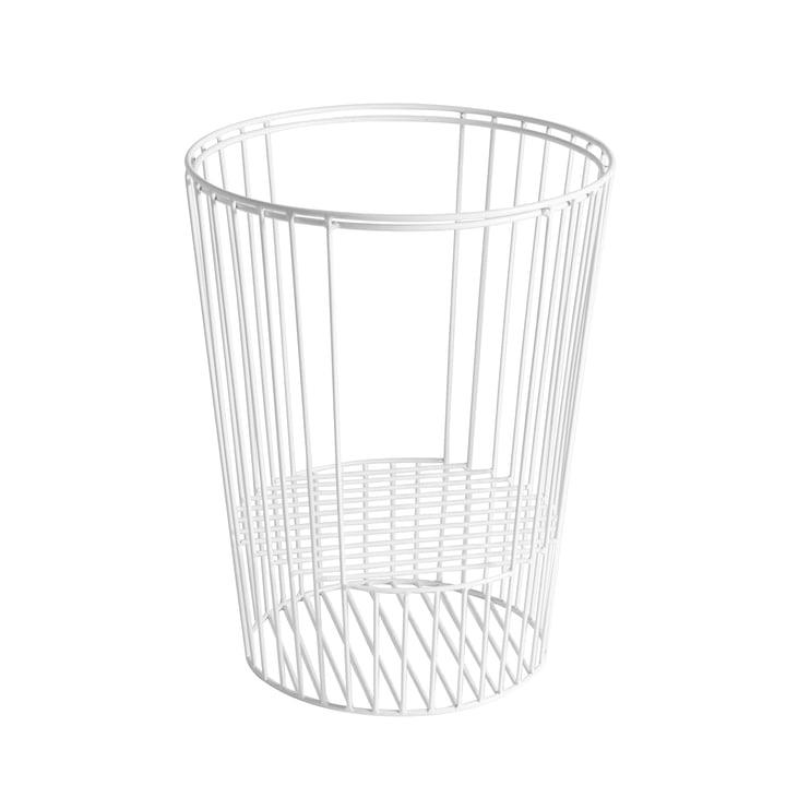 Rahmen für Ernestin Tisch und Zeitschriftenhalter von Hartô in Weiß