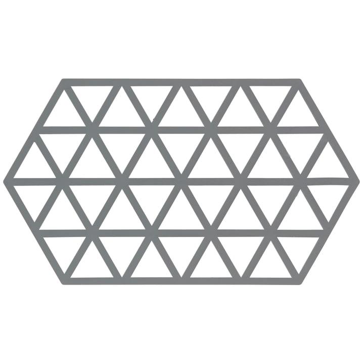 Grauer Untersetzer Triangle von Zone Denmark