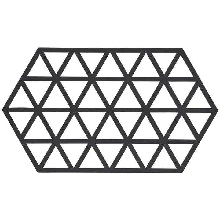 Zone Denmark - Triangle Untersetzer, 24 x 14 cm, schwarz