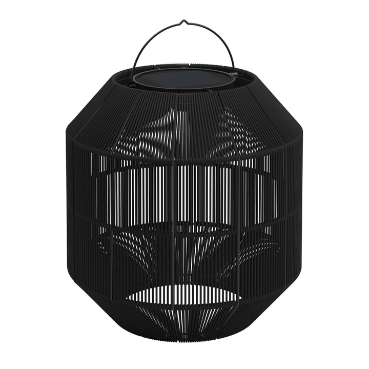 Gloster - Ambient Nest Solarleuchte, steel