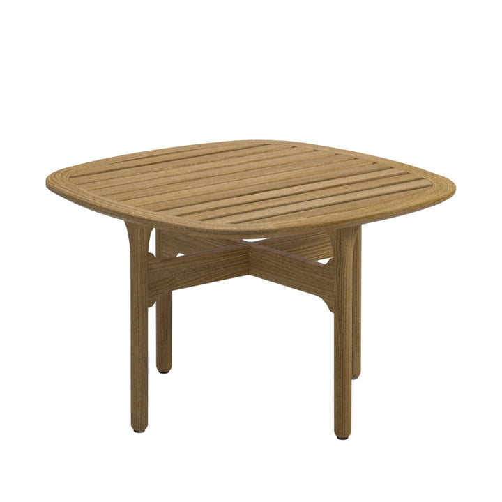 Gloster - Bay Lounge Side Table, 63 x 63 cm, Teak