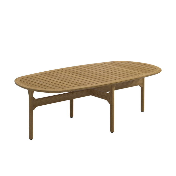 Gloster - Bay Lounge Coffee Table, 126 x 63 cm, Teak