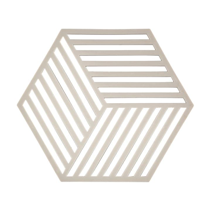Sechseckiger Topf-Untersetzer Hexagon von Zone