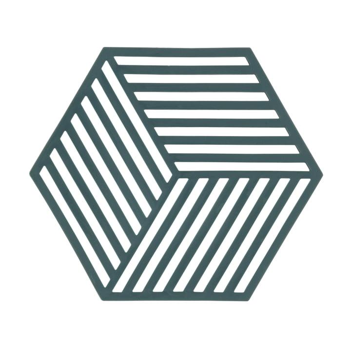 Grüner Hexagon Untersetzer von Zone Demark