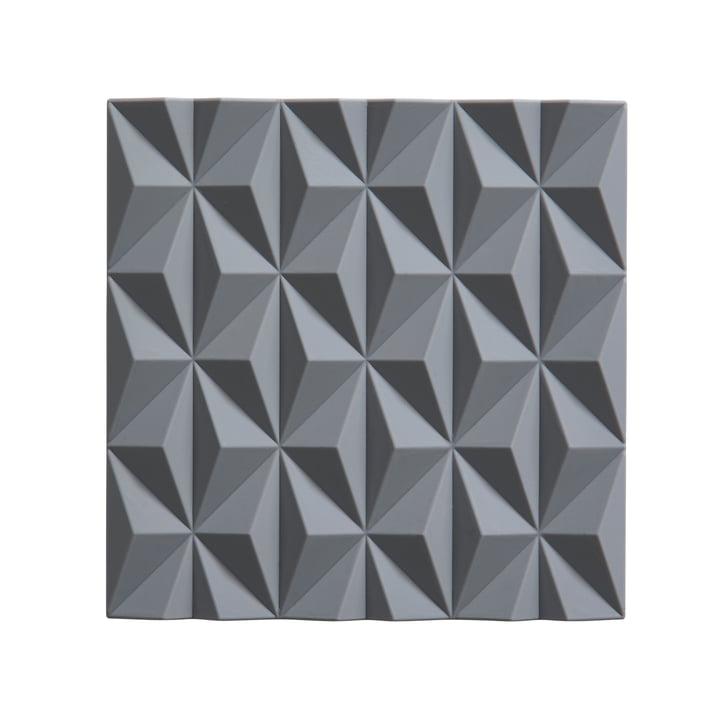 Origami Untersetzer Beak von Zone Denmark in Cool Grey