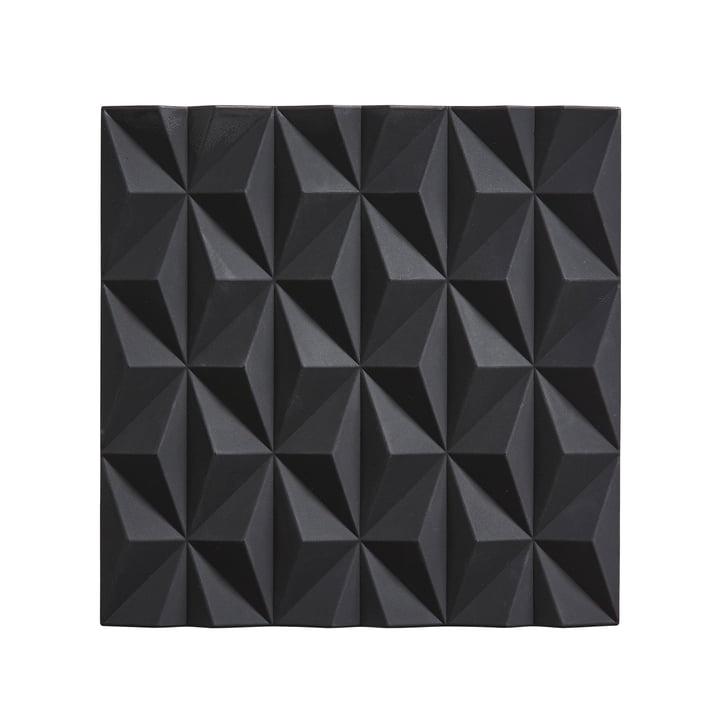 Origami Untersetzer Beak von Zone Denmark in Schwarz