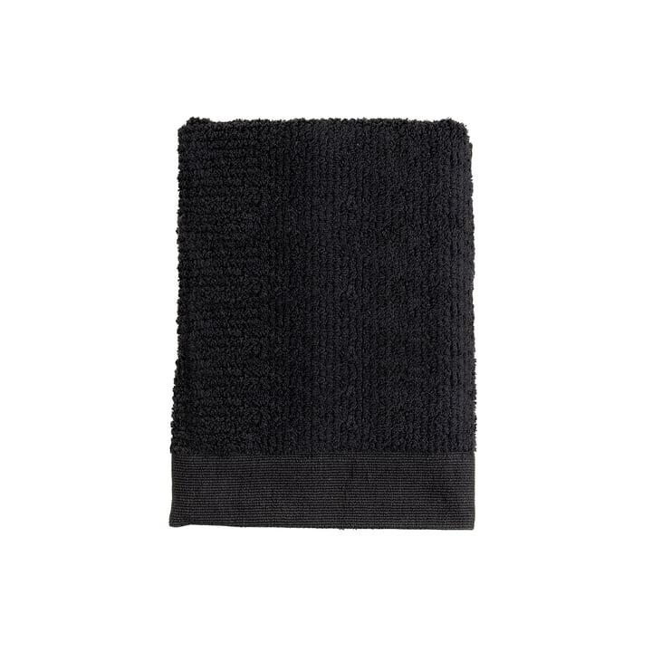 Das Zone Denmark - Classic Gästehandtuch, 50 x 70 cm, schwarz