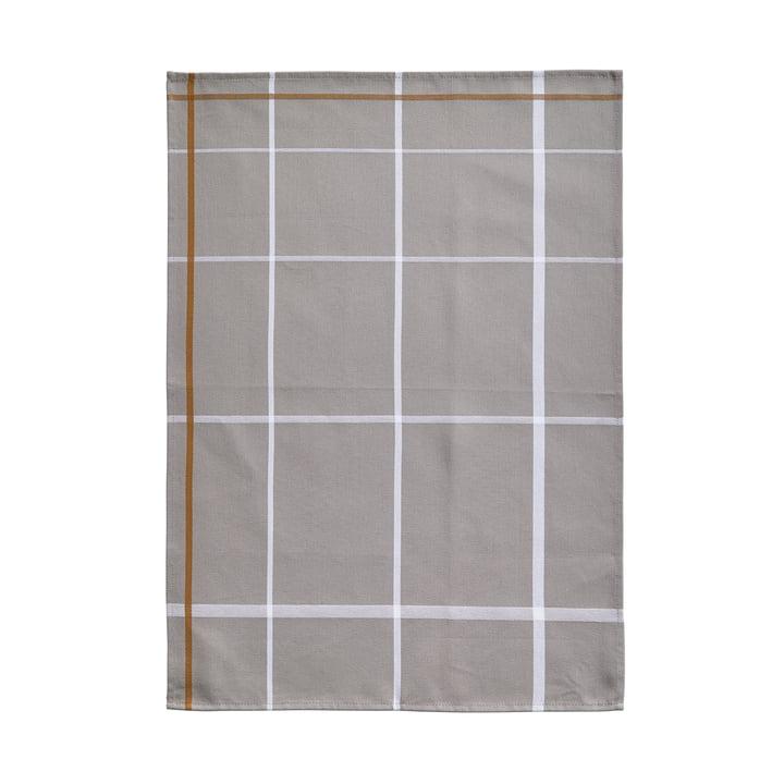 Geschirrtuch 70 x 50 cm von Zone Denmark in Grau / Weiß