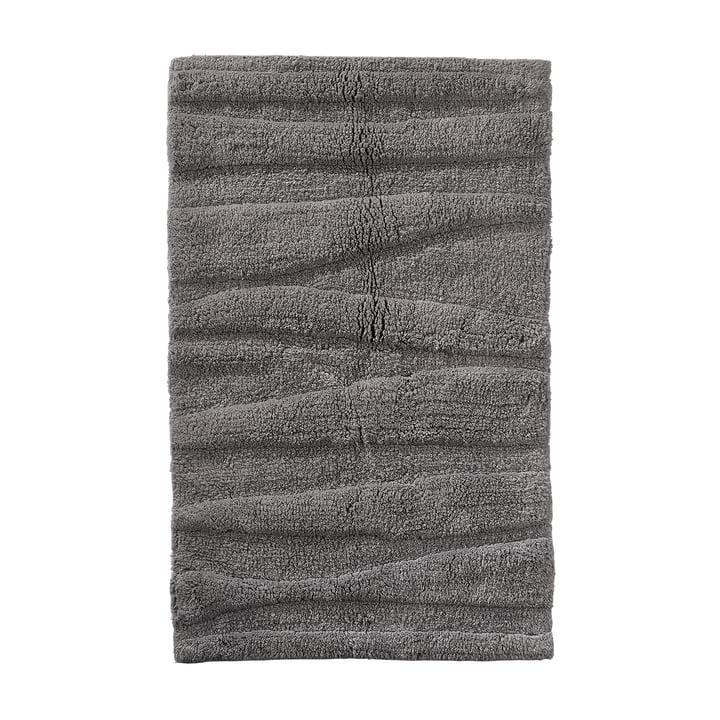Die Zone Denmark - Flow Badezimmermatte, 80 x 50 cm, grau
