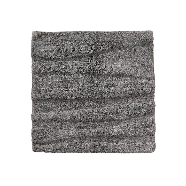 Die Zone Denmark - Flow Badezimmermatte, 65 x 65 cm, grau