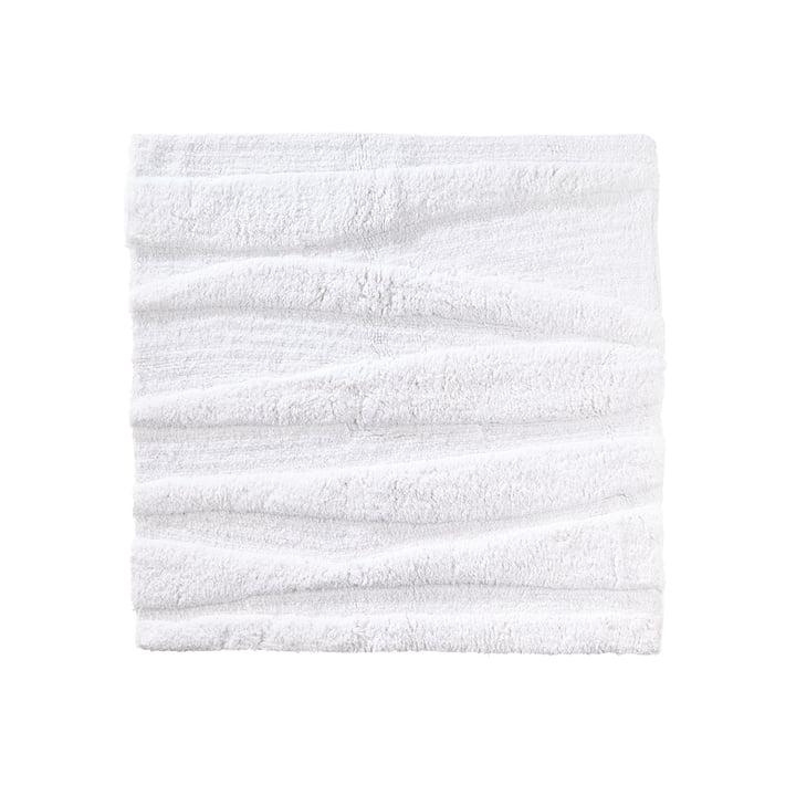 Die Zone Denmark - Flow Badezimmermatte, 65 x 65 cm, weiß
