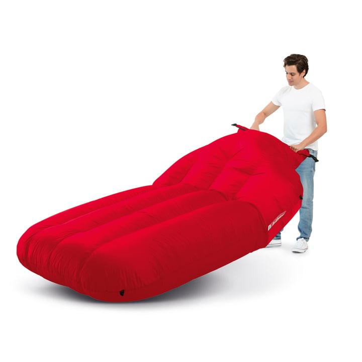Der Fatboy - Lamzac XXXL in rot