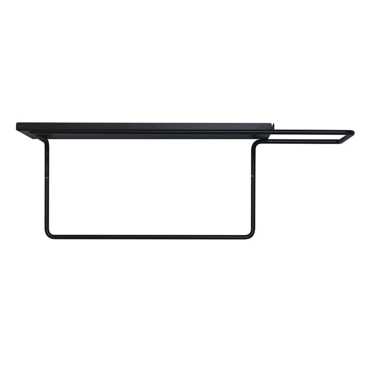 Die vonbox - Wire Garderobe, schwarz (RAL 9005)