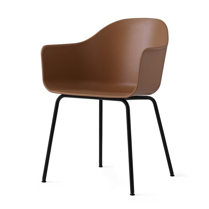 Menu - Harbour Chair (Stahl), schwarz / khaki