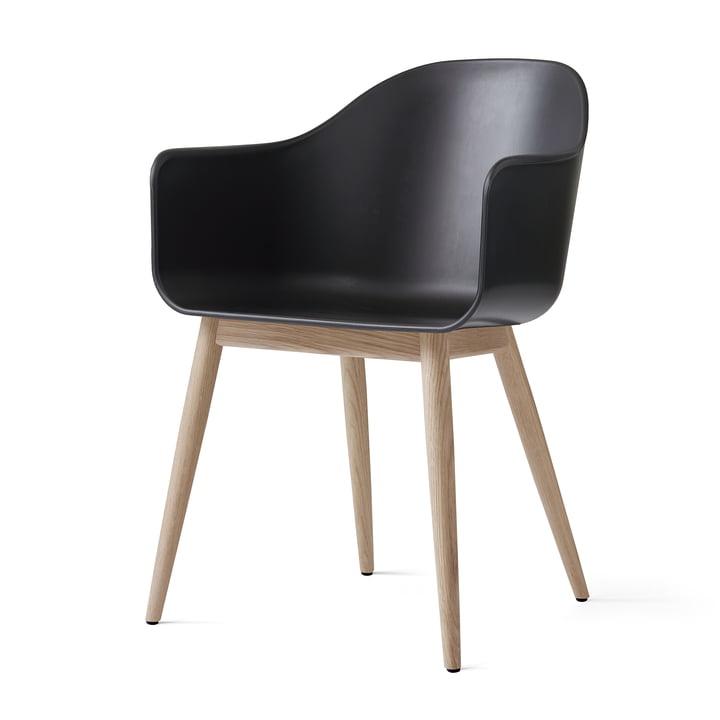 Menu - Harbour Chair (Holz), eiche natur / schwarz