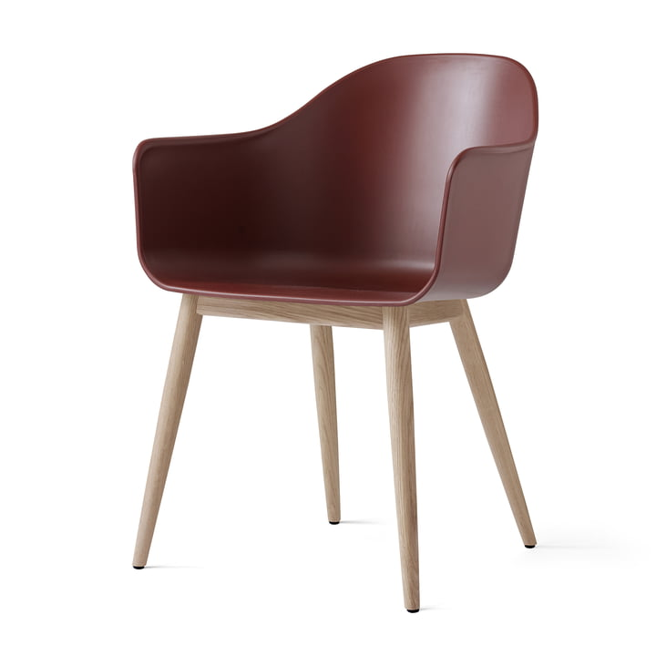 Menu - Harbour Chair (Holz), eiche natur / burned red
