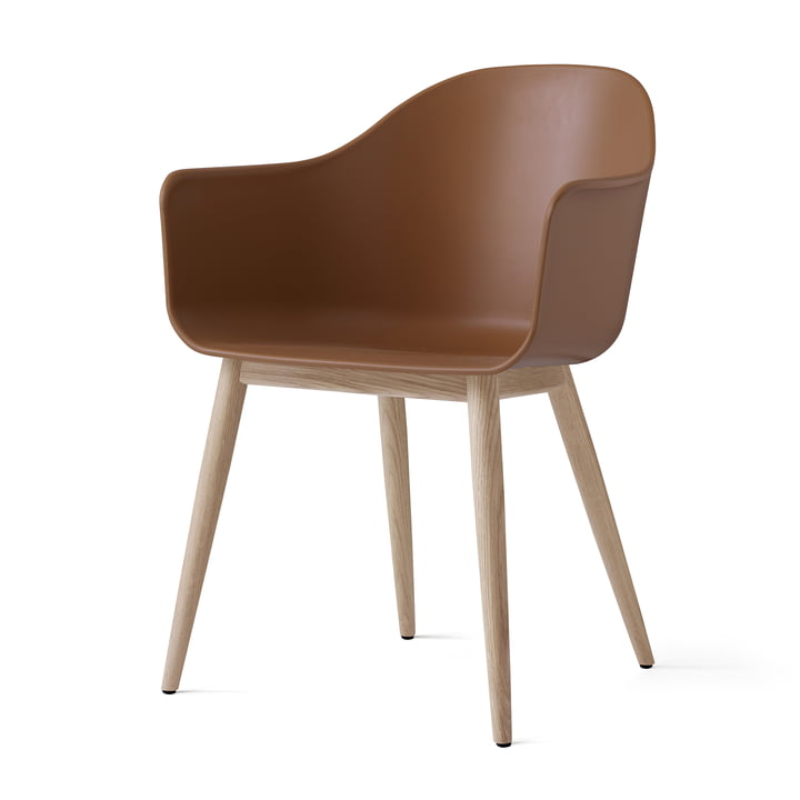 Menu - Harbour Chair (Holz), eiche natur / khaki