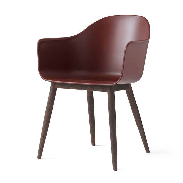 Menu - Harbour Chair (Holz), eiche dunkel / burned red