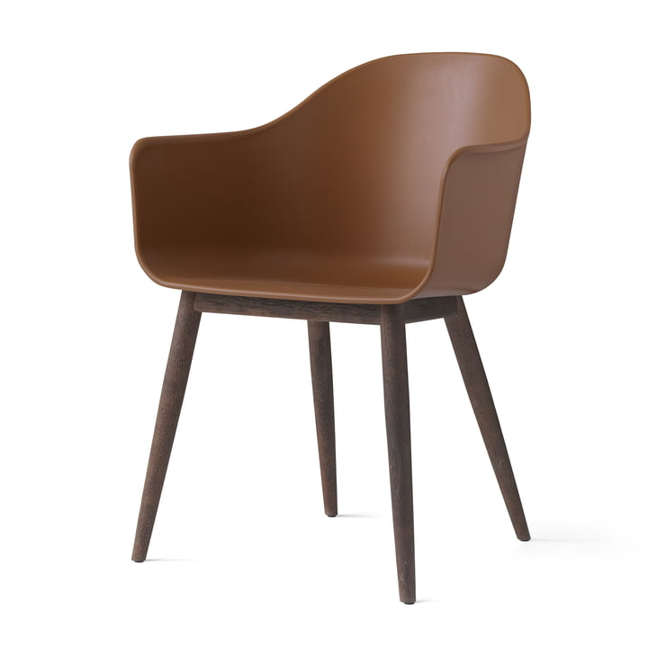Menu - Harbour Chair (Holz), eiche dunkel / khaki