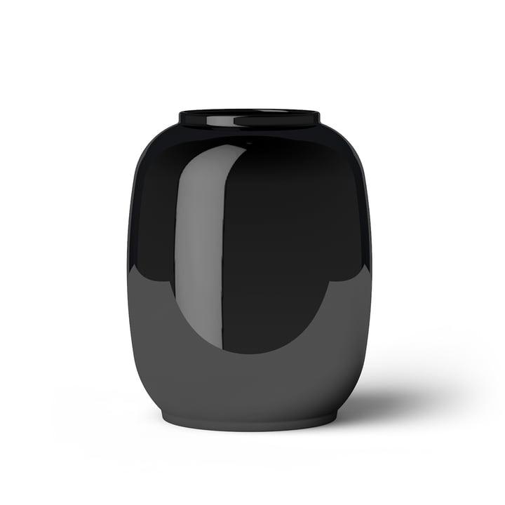 Lyngby Porcelæn - Form Vase 140/2, schwarz