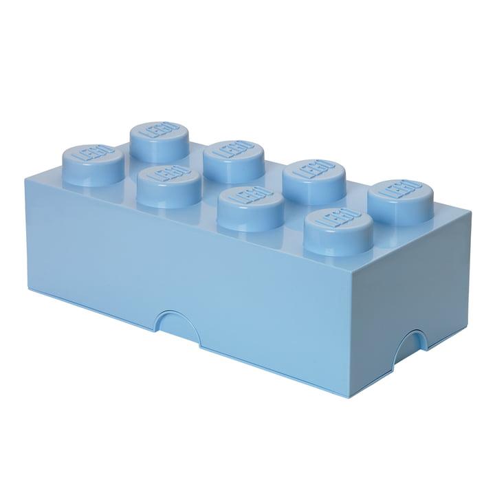 Storage Brick 8 von Lego in hellblau