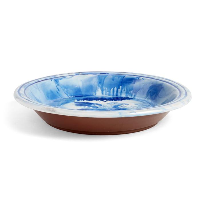 Die Hay - Swirl Schale, Ø 36 x H 6.5 cm, blau