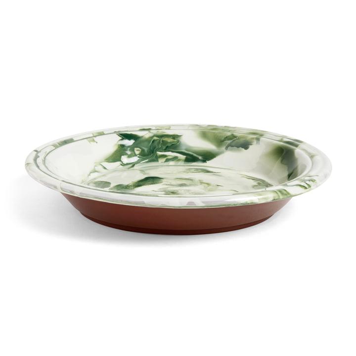 Die Hay - Swirl Schale, Ø 36 x H 6.5 cm, grün