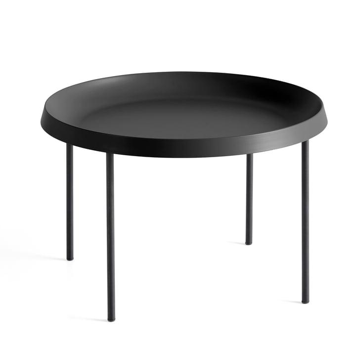 Der Hay - Tulou Beistelltisch, Ø 55 x H 35 cm, schwarz