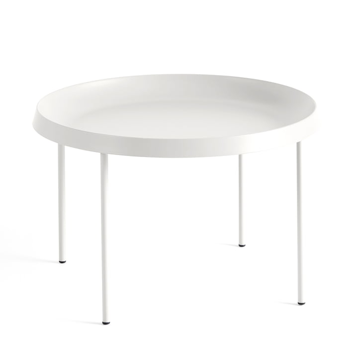 Der Hay - Tulou Beistelltisch, Ø 55 x H 35 cm, off-white