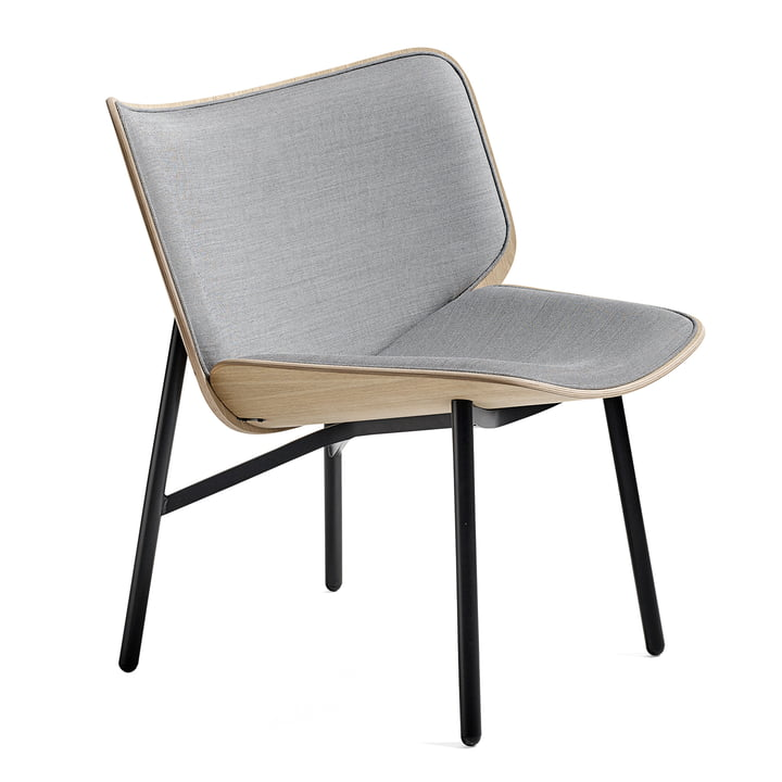 Dapper Lounge Chair von Hay in Surface 120 / Eiche matt lackiert / Schwarz