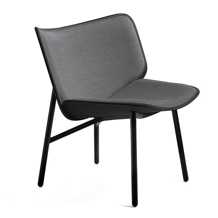 Dapper Lounge Chair von Hay in Steelcut Trio 124 / Eiche gebeizt / Schwarz