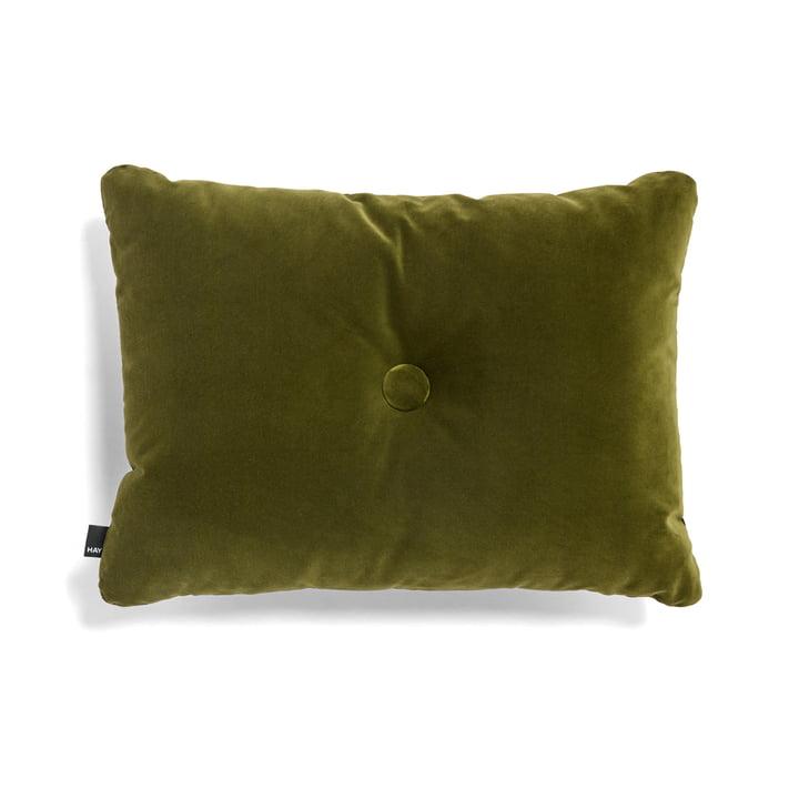 Kissen Dot Soft 45 x 60 cm von Hay in Moosgrün