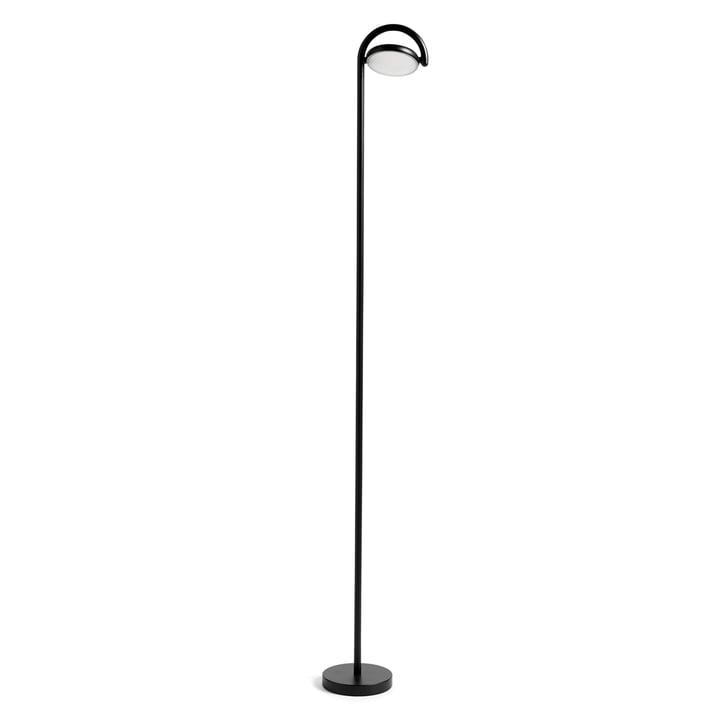 Marselis LED Stehleuchte von Hay in Signalschwarz (RAL 9004)