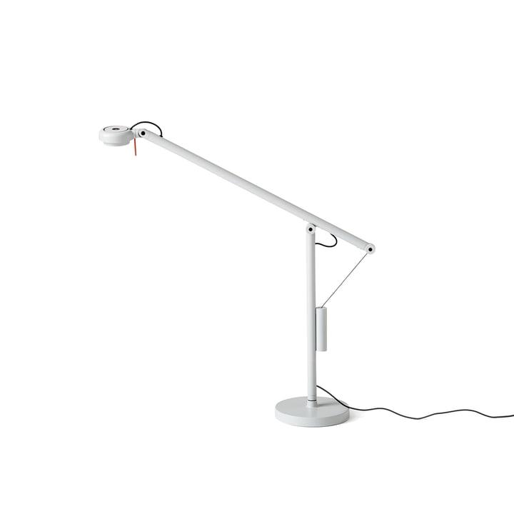 Fifty-Fifty Mini LED Tischleuchte von Hay in Lichtgrau (RAL 7035)