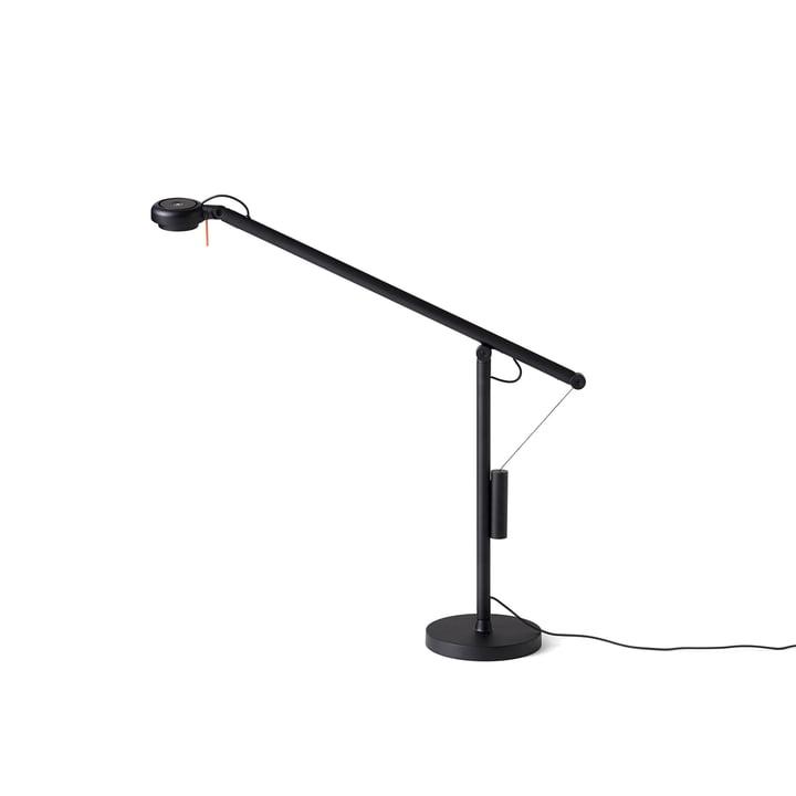 Fifty-Fifty Mini LED Tischleuchte von Hay in Signalschwarz (RAL 9004)