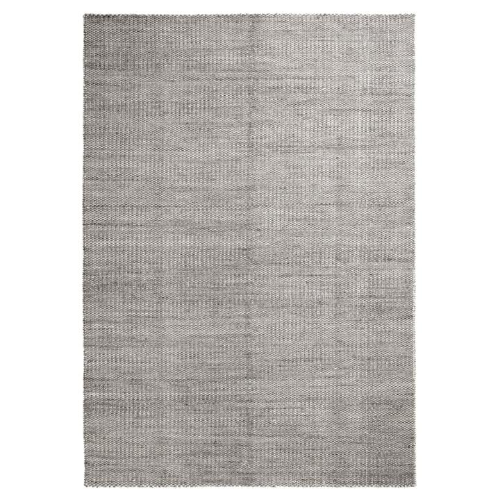 Moiré Kelim Teppich 200 x 300 cm von Hay in Grau