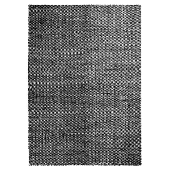 Moiré Kelim Teppich 200 x 300 cm von Hay in Schwarz