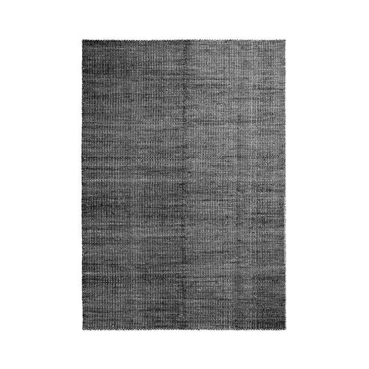 Moiré Kelim Teppich 170 x 240 cm von Hay in Schwarz